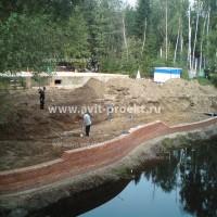 Строительство набережной 1