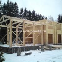 Возведение стен и опорных конструкций