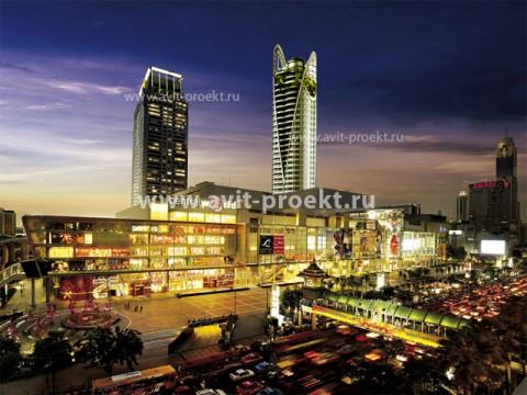 Разработка концепции торгового центра